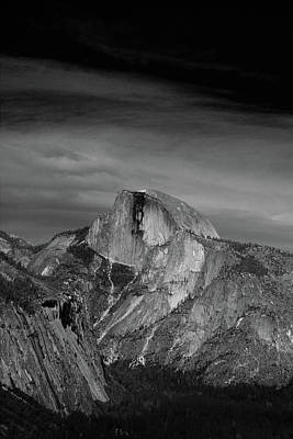 Half Dome From Columbia Rock Art Print