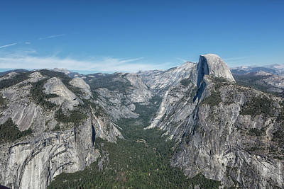 Photograph - Half Dome From Glacier Point by Belinda Greb