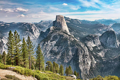 Photograph - Half Dome From Glacier Point by Kristia Adams