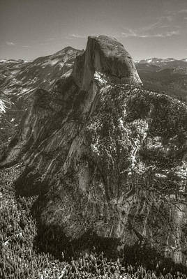 Photograph - Half Dome From Glacier Point by Michael Kirk