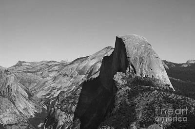 Half Dome From Glacier Point Art Print by Richard Verkuyl