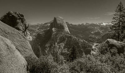 Photograph - Half Dome From Panorama Trail by Michael Kirk