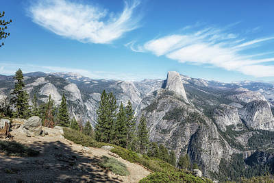 Photograph - Half Dome From Washburn Point by Belinda Greb