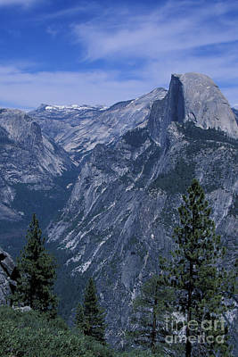 Half Dome From Washburn Point Art Print by Stan and Anne Foster
