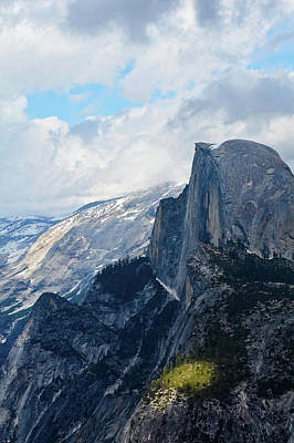 Yosemite Half Dome Photograph - Half Dome Glacier Point Portrait by Kyle Hanson