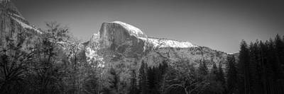 Photograph - Half Dome In Winter by Robert Melvin