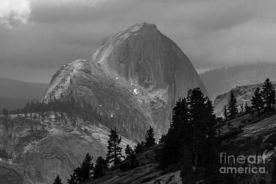 Photograph - Half Dome In Yosemite by Ben Graham