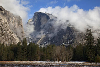 Yosemite California Photograph - Half Dome by Mike Buchheit