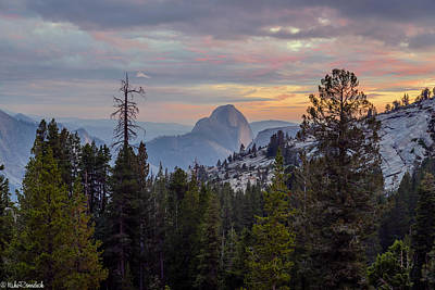 Photograph - Half Dome by Mike Ronnebeck