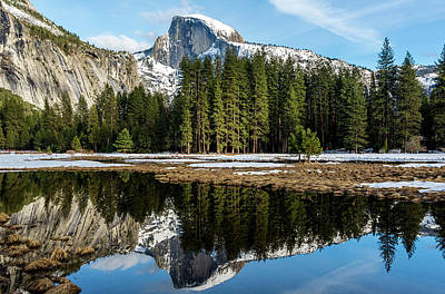Photograph - Half Dome Reflection by Jack Peterson