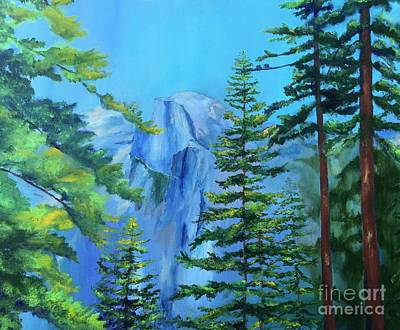Half Dome Painting - Half Dome by Stacey Best