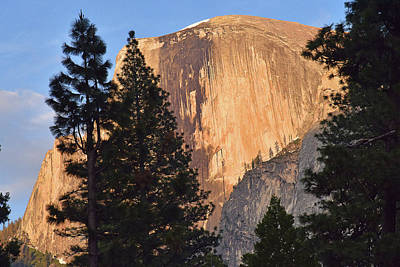 Photograph - Half Dome Sunset by Harvey Barrison
