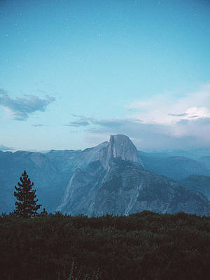 Water Droplets Sharon Johnstone - Half Dome Twilight by Jeff Rose