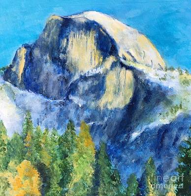 Half Dome Painting - Half Dome Two by Stacey Best