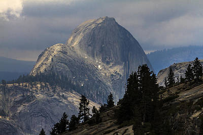 Photograph - Half Dome Yosemite 2 by Ben Graham