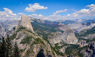 Photograph - Half Dome Yosemite 2 by Carmen Tosca