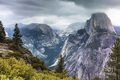 Photograph - Half Dome Yosemite 4 by Ben Graham