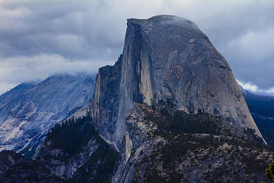 Photograph - Half Dome Yosemite by Ben Graham