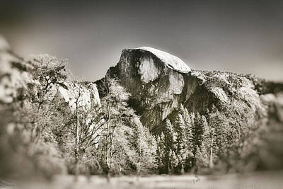 Photograph - Half Dome Yosemite by James Bethanis