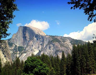 Photograph - Half Dome Yosemite by Joyce Dickens