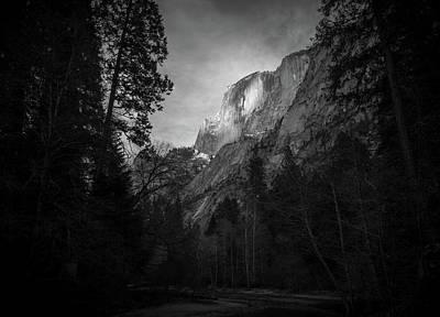 Comic Character Paintings - Half Dome Yosemite by Mike Fusaro
