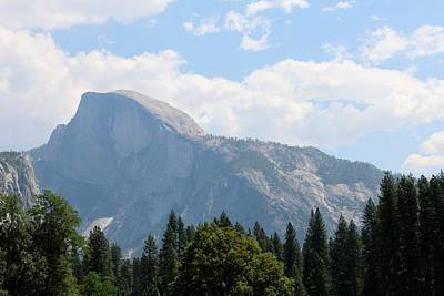 Photograph - Half Dome - Yosemite National Park  by Christy Pooschke