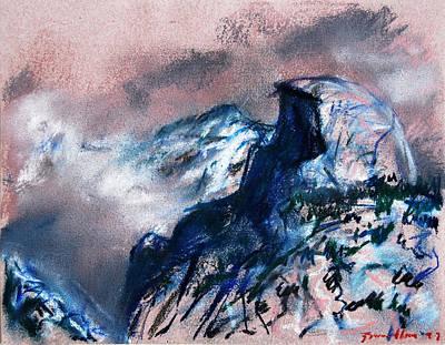 Pastel - Half Dome by Zolita Sverdlove
