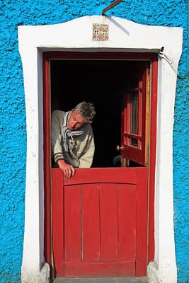 Photograph - Half Door by Aidan Moran