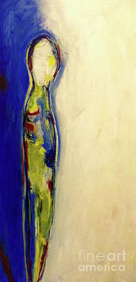 Painting - Half Man Half Blue by Gallery Messina