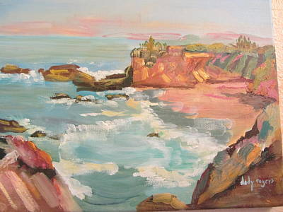 Painting - Half Moon Bay by Dody Rogers