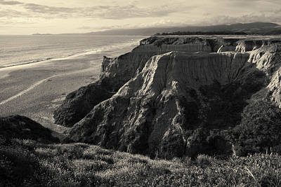 Photograph - Half Moon Bay II Toned by David Gordon