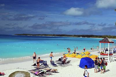 Photograph - Half Moon Cay by Gary Wonning