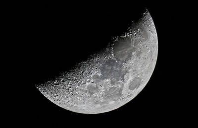 Photograph - Half Moon by James Menzies