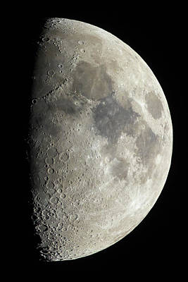 Photograph - Half Moon by Jay Beckman