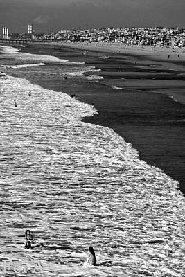 Photograph - Half Ocean Half Beach Half Of The Half City by Fei A