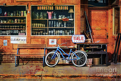 Photograph - Half Off Sale Bicycle by Craig J Satterlee