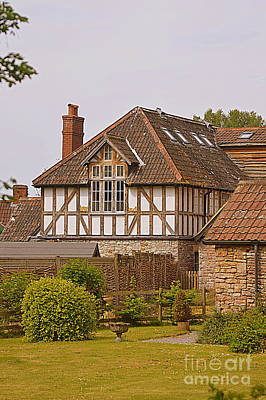 Photograph - Half Timbered Building by Andy Thompson