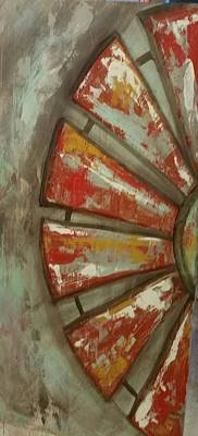 Painting - Half Windmill  by Kendra Sorum
