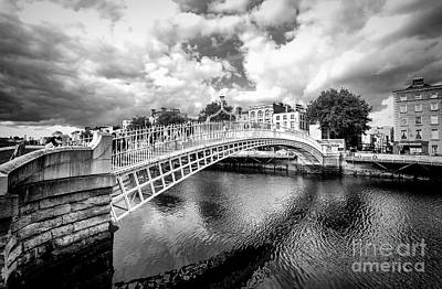 Photograph - Halfpenny Bridge by Jim Orr