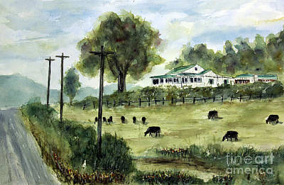 Leipers Fork Painting - Halfway To Leipers by Tim Ross