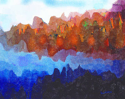 Haliburton Highlands Art Print