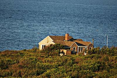 Photograph - Halibut Point House by Joe Faherty