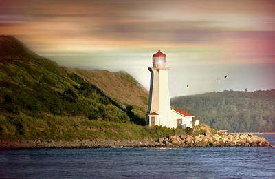 Photograph - Halifax Harbor Lighthouse by Diana Angstadt