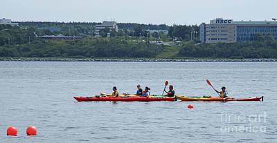 Photograph - Halifax Kayaking by Randall Weidner