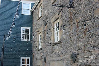 Photograph - Halifax Lightbulbs by Wilko Van de Kamp