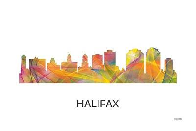 Halifax N.s.skyline Art Print