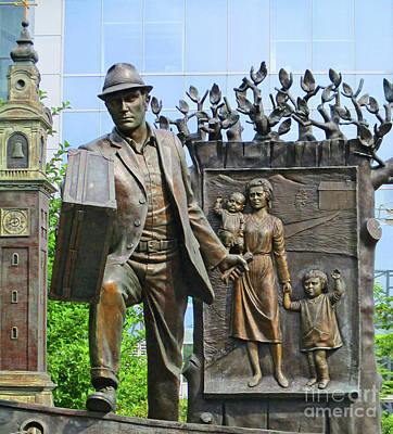 Photograph - Halifax Sculpture 1 by Randall Weidner