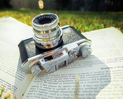 Rangefinder Photograph - Halina 35x Rangefinder Camera by Jon Woodhams
