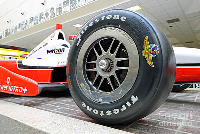 Indycar Photograph - Hall Of Fame Museum At Indianapolis, Indiana by Steve Gass
