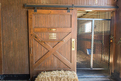 Photograph - Hall Of Fame Stable by Pamela Williams